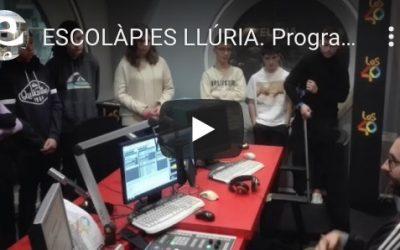 Escolàpies Llúria: Programa de Radio optativa de 4º de ESO.