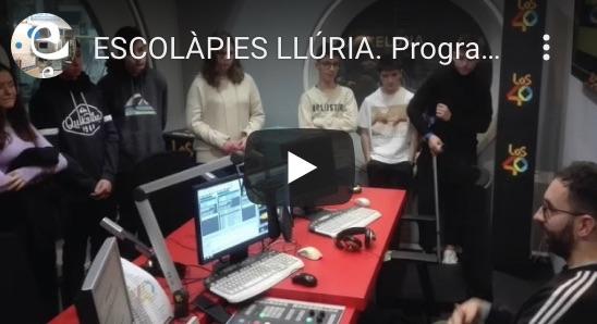Escolàpies Llúria: Programa de Ràdio optativa de 4t d'ESO.